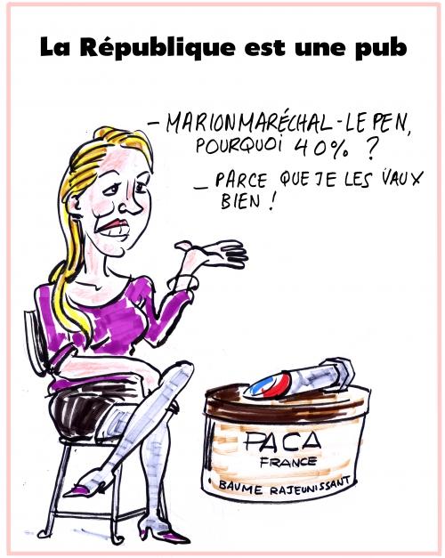 webzine,bd,zébra,gratuit,fanzine,bande-dessinée,caricature,marion maréchal-lepen,satirique,régionales,élections,2015,dessin,presse,editorial cartoon,zombi