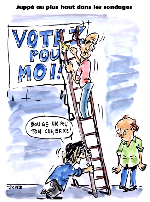 webzine,zébra,bd,fanzine,gratuit,bande-dessinée,caricature,alain juppé,sondage,présidentielle 2017,brice hortefeux,nicolas sarkozy,dessin,presse,editorial cartoon,satirique,zombi