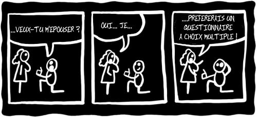 webzine,gratuit,bd,zébra,bande-dessinée,fanzine,wschinski,allemand,gag,humbug,mariage,strip,noir et blanc,qcm,webcomic,polar,g-1759