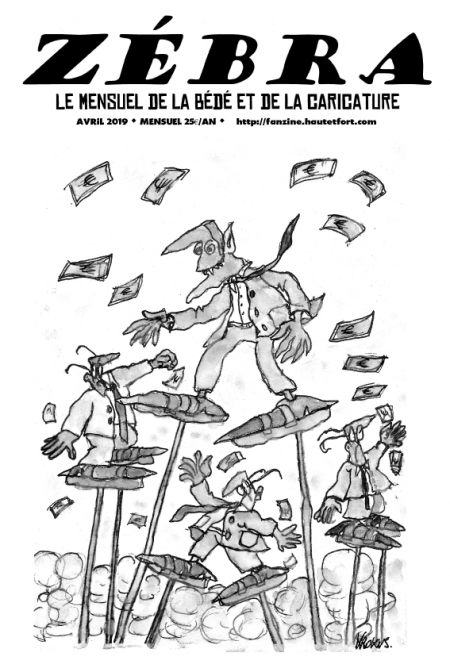 webzine,bd,gratuit,zébra,fanzine,bande-dessinée,pdf,mensuel,caricature,waner,zombi,adéka,lb,laouber,krokus,avril,2019,dessin,presse,satirique