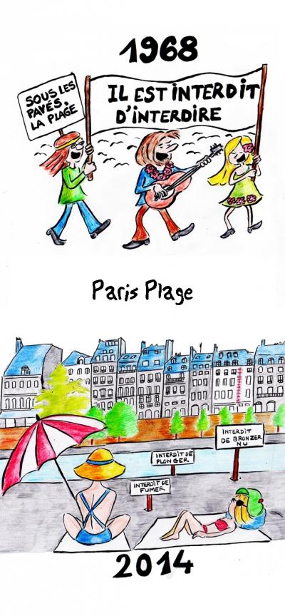 webzine,bd,gratuit,zébra,fanzine,bande-dessinée,strip,lola,paris-plage,mai 68,aurélie dekeyser