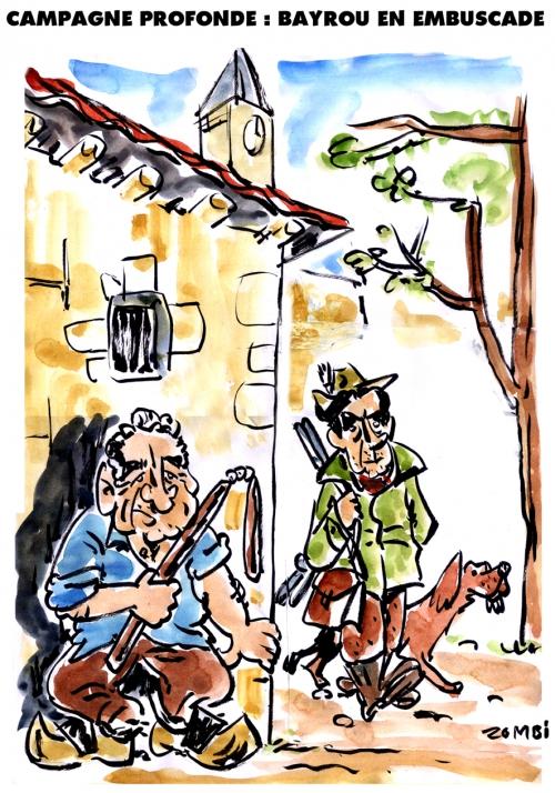 webzine,bd,zébra,fanzine,gratuit,bande-dessinée,caricature,françois bayrou,fillon,campagne,présidentielle,2017,dessin,presse,satirique,editorial cartoon,zombi