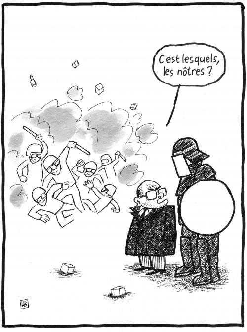 webzine,bd,fanzine,zébra,gratuit,bande-dessinée,caricature,manifestation,violence,police,casseurs,bernard cazeneuve,dessin,presse,satirique,editorial cartoon