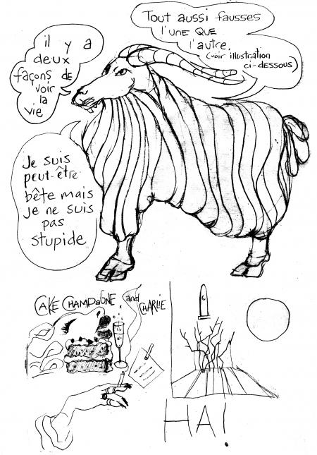 webzine,bd,gratuit,zébra,bande-dessinée,fanzine,illustration,bélier,louise asherson,carnet,dessin