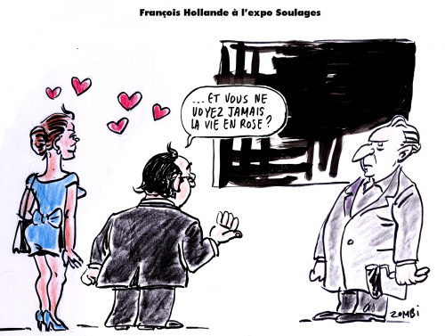 webzine,bd,zébra,gratuit,fanzine,bande-dessinée,satirique,caricature,pierre soulages,hollande,art,luxe,dessin,presse,editorial cartoon,zombi