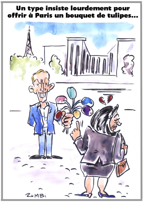 webzine,bd,zébra,fanzine,gratuit,bande-dessinée,caricature,jeff koons,tulipes,bouquet,has been,paris,dessin,presse,satirique,editorial cartoon,zombi