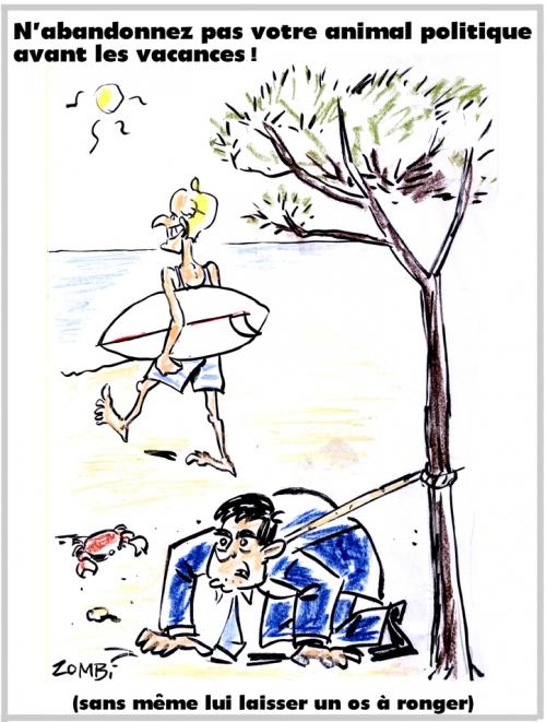 webzine,bd,zébra,gratuit,fanzine,bande-dessinée,caricature,emmanuel macron,vacances,manuel valls,animal,politique,dessin,presse,abandon,satirique,dessin,presse,editorial cartoon,zombi