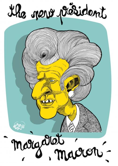 webzine,bd,zébra,fanzine,gratuit,bande-dessinée,caricature,emmanuel macron,bobika,margaret thatcher,dessin,presse,satirique,editorial cartoon