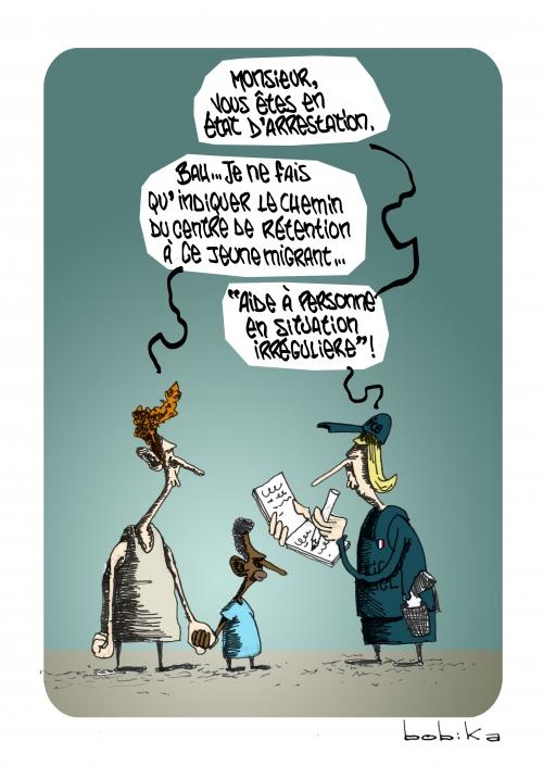 webzine,bd,zébra,gratuit,fanzine,bande-dessinée,caricature,migrant,asile,immigré,bobika,dessin,presse,satirique,ediitorial cartoon,siné-mensuel