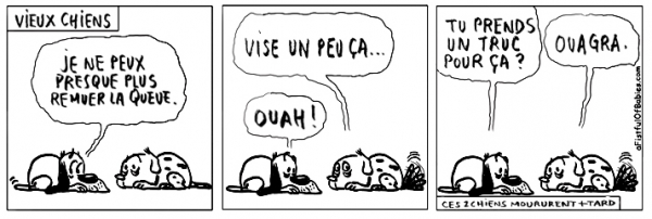 webzine,bd,zébra,fanzine,gratuit,bande-dessinée,comic-strip,reyn,afistfulofbabies.com,chien,vieux,viagra,humour,gag