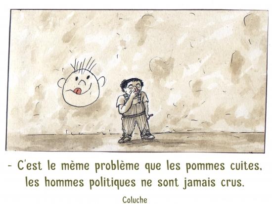 webzine,bd,zébra,gratuit,fanzine,bande-dessinée,caricature,citation,coluche,portrait,politique,pomme,dessin,satire,marc schmitt