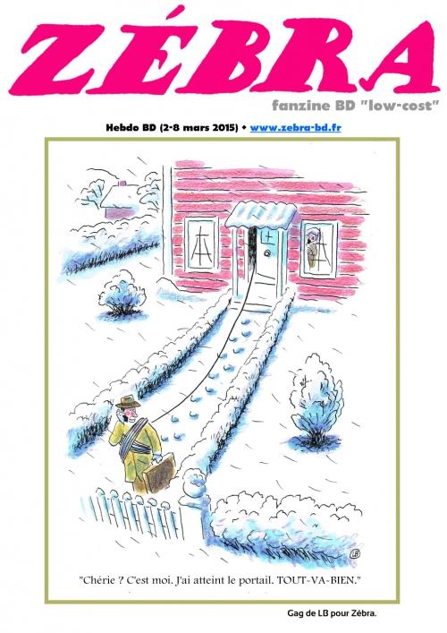 webzine,bd,gratuit,fanzine,zébra,bande-dessinée,revue de presse,actualité,hebdomadaire,couverture,burlingue,issuu.com,pdf,lb,lien hypertexte