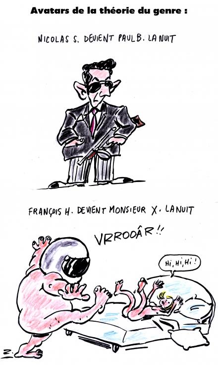 webzine,zébra,gratuit,bd,fanzine,bande-dessinée,caricature,théorie du genre,nicolas sarkozy,françois hollande,dessin,presse,editorial cartoon,zombi