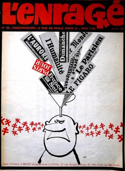 webzine,bd,zébra,fanzine,gratuit,bande-dessinée,critique,kritik,enragé,siné,caricature,cardon,cgt,pcf,police,hoebeke,hara-kiri
