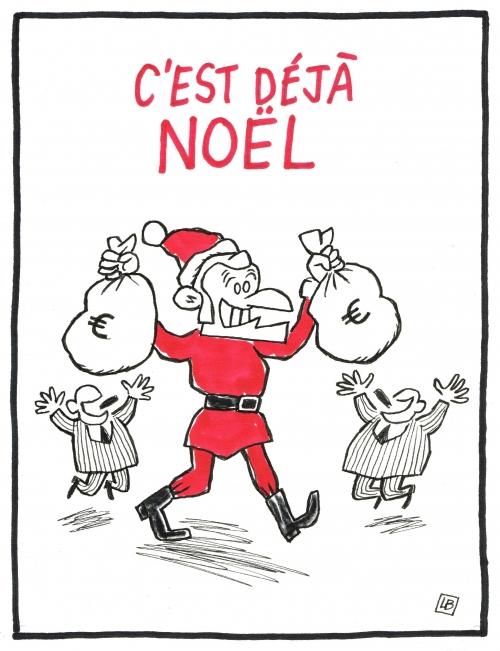 webzine,bd,zébra,gratuit,fanzine,bande-dessinée,caricature,emmanuel macron,père-noël,dessin,presse,satirique,editorial cartoon,lb,siné-mensuel