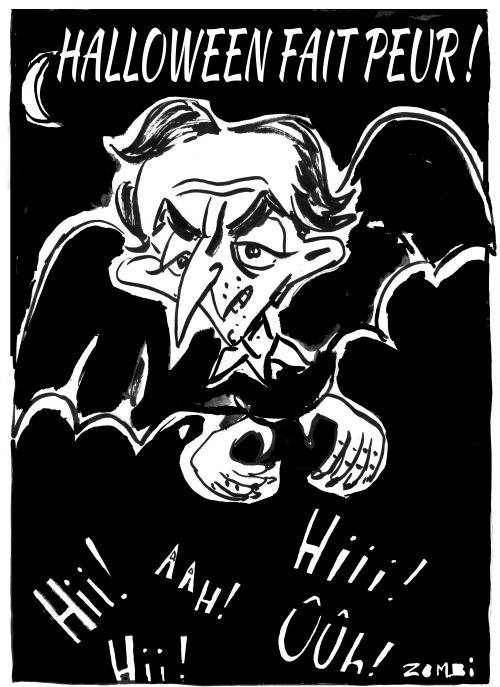 webzine,bd,zébra,gratuit,fanzine,bande-dessinée,caricature,éric zemmour,halloween,peur,épouvante,dessin,presse,satirique,editorial cartoon,zombi