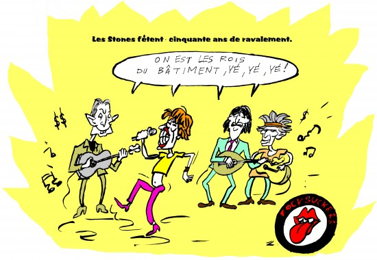 fanzine,zébra,bd,blog,bande-dessinée,caricature,zombi,satire,humour,rolling-stones,mick jagger,keith richards,ronnie wood,charlie watts,johnny hallyday,alain delon,enfer