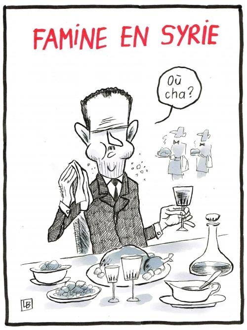 webzine,bd,zébra,fanzine,gratuit,bande-dessinée,caricature,bachar el assad,syrie,famine,dessin,presse,satirique,editorial cartoon,énigmatique lb