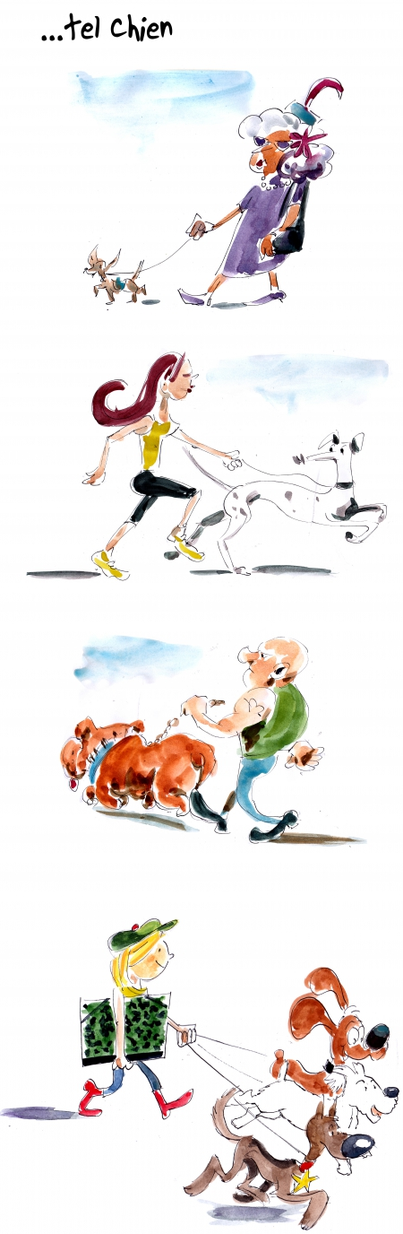 webzine,bd,gratuit,zébra,bande-dessinée,fanzine,strip,lola,aurélie dekeyser,chien,maître,humour,rantanplan,milou,bill