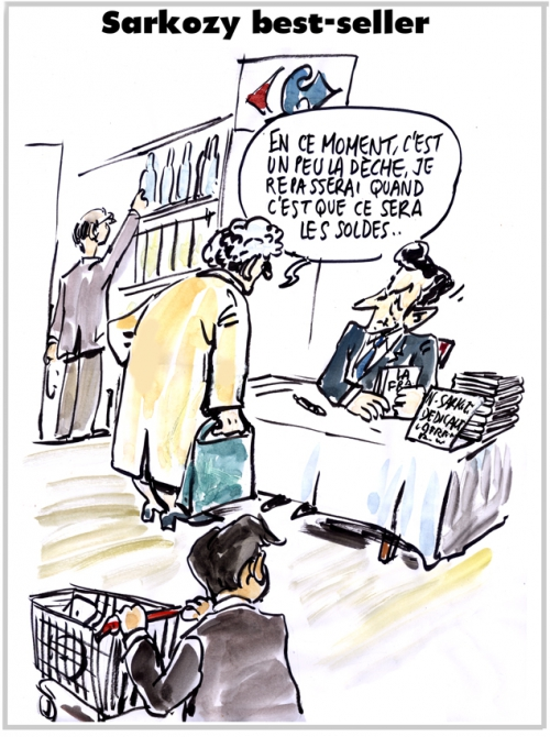 webzine,bd,gratuit,zébra,fanzine,bande-dessinée,caricature,nicolas sarkozy,livre,best-seller,la france au coeur,dédicace,satirique,editorial cartoon,zombi,dessin,presse