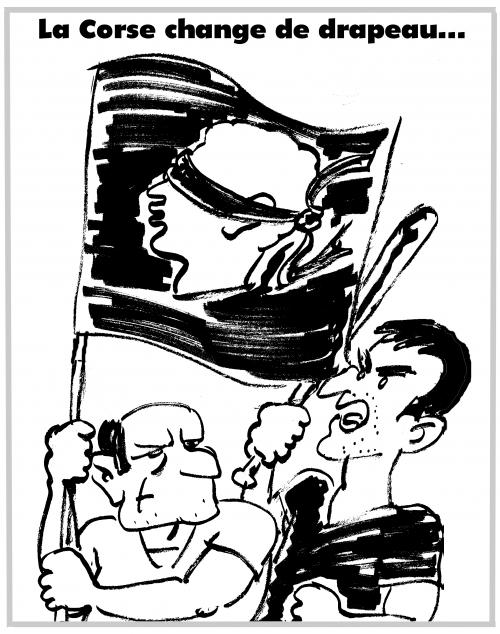 webzine,bd,zébra,gratuit,fanzine,bande-dessinée,caricature,drapeau,corse,nationalisme,manifestations,dessin,presse,satirique,editorial cartoon,zombi