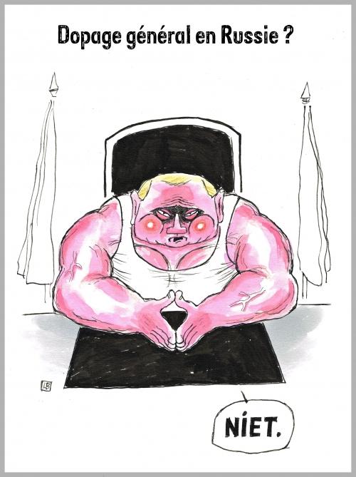 webzine,bd,zébra,gratuit,fanzine,bande-dessinée,caricature,poutine,dopage,russie,dessin,presse,satirique,editorial cartoon
