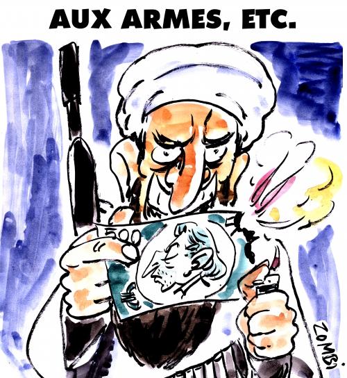 webzine,bd,zébra,fanzine,gratuit,bande-dessinée,caricature,serge gainsbourg,anniversaire,djihad,dessin,presse,aux armes,satirique,editorial cartoon,zombi