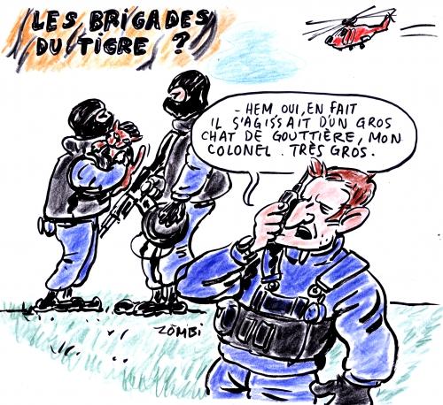 webzine,bd,zébra,gratuit,fanzine,bande-dessinée,satirique,caricature,tigre,seine-et-marne,police,gendarmerie,chat,dessin,presse,editorial cartoon,zombi