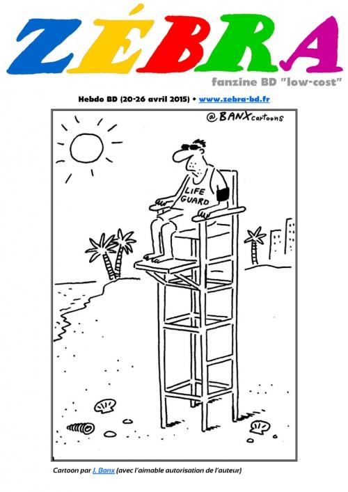 webzine,bd,gratuit,fanzine,zébra,bande-dessinée,revue de presse,actualité,hebdomadaire,dessin,presse,caricature,couverture,zombi,jeremy banx,lampedusa,issuu.com,pdf,lien hypertexte