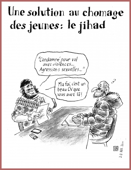 webzine,bd,zébra,fanzine,gratuit,bande-dessinée,caricature,jihad,satirique,pole emploi,dessin,presse,editorial cartoon