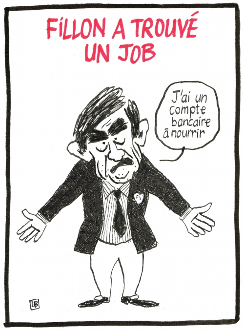 webzine,bd,zébra,gratuit,fanzine,bande-dessinée,caricature,françois fillon,reconversion,dessin,presse,satirique,editorial cartoon,énigmatique LB