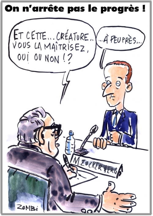 webzine,bd,zébra,gratuit,fanzine,bande-dessinée,caricature,mark zuckerberg,facebook,congrès,frankenstein,dessin,presse,satirique,editorial cartoon,zombi
