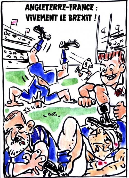 webzine,bd,zébra,fanzine,gratuit,bande-dessinée,caricature,rugby,xv,équipe,france,angleterre,six nations,tournoi,défaite,dessin,satirique,editorial cartoon,zombi