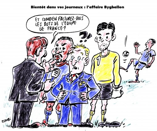 webzine,zébra,bd,gratuit,fanzine,bande-dessinée,satirique,caricature,didier deschamps,hugo lloris,patrice evra,foot,dessin,presse,editorial cartoon,zombi