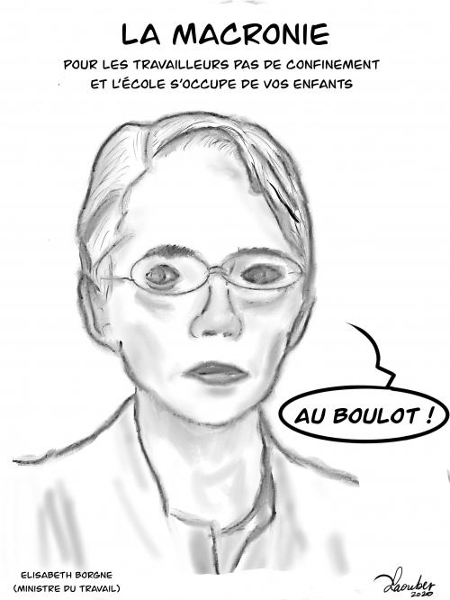 webzine,bd,zébra,gratuit,fanzine,bande-dessinée,caricature,élisabeth borne,macronie,dessin,presse,satirique,laouber
