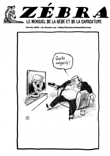fanzine,bd,zébra,mensuel,février,abonnement,dessin,presse,caricature,satirique