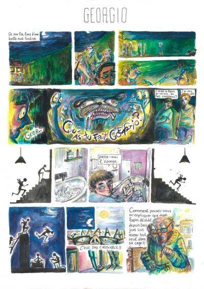 webzine,bd,gratuit,zébra,fanzine,bande-dessinée,actualité,revue,presse,hebdomadaire,février,2018,dale mc featters,sam henderson,guerre,sexes,arts dessinés,frédéric bosser,degas,mattotti,yves saint-laurent,micaël,blexbolex,pajak,jamie hewlett,delcourt,brassart,étienne puaux,chloe bertschy,graphisme,jeune talent