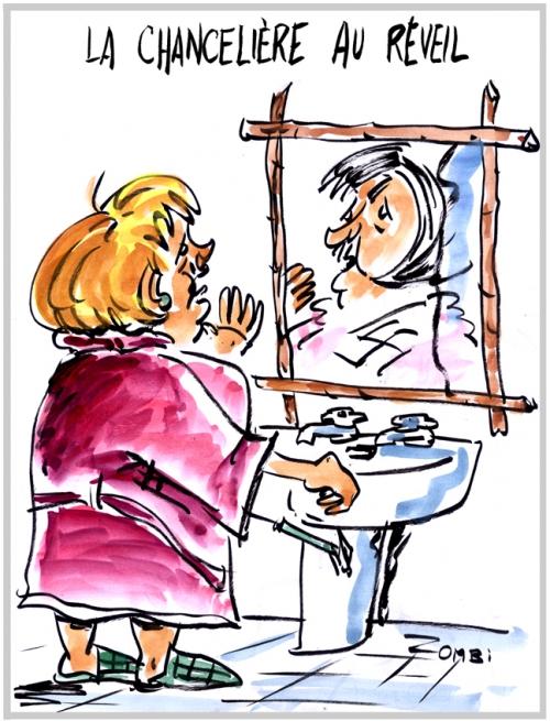 webzine,bd,gratuit,zébra,fanzine,bande-dessinée,caricature,angela merkel,élections,allemagne,chancelière,hitler,dessin,presse,zombi,editorial cartoon,satirique