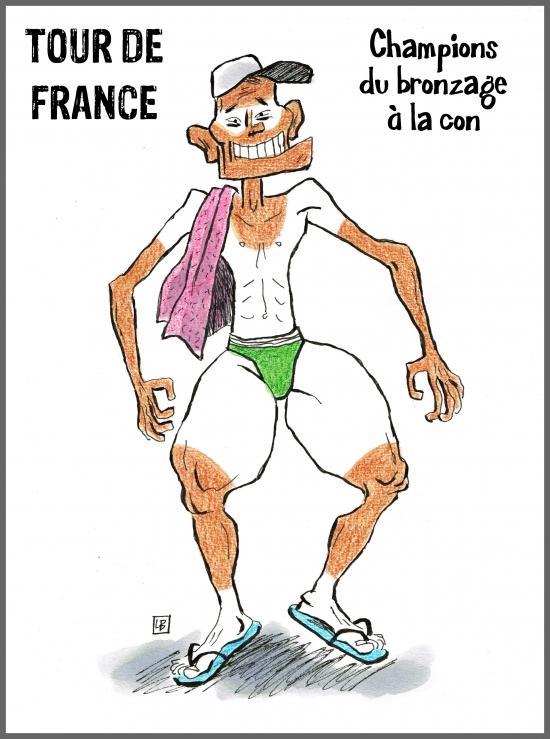 webzine,bd,gratuit,zébra,fanzine,bande-dessinée,caricature,cycliste,tour de france,lb,dessin,presse,satirique