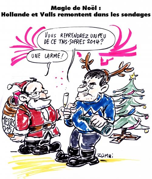 webzine,bd,zébra,gratuit,fanzine,bande-dessinée,caricature,manuel valls,françois hollande,père noël,sondage,dessin,presse,satirique,editorial cartoon,zombi