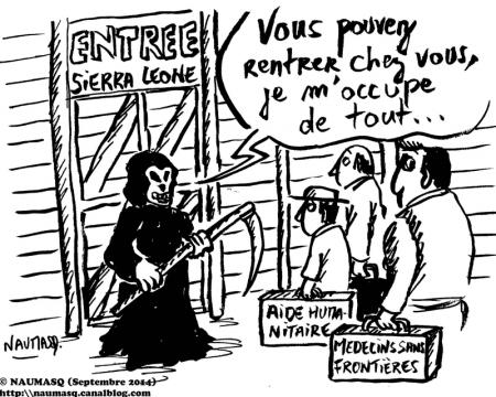 webzine,bd,gratuit,zébra,fanzine,bande-dessinée,gag,naumasq,sierra leone,virus,ebola,dessin,presse,editorial cartoon