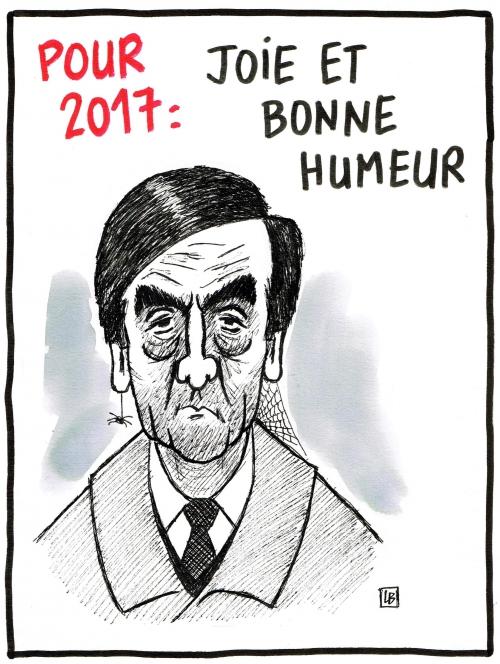 webzine,bd,gratuit,fanzine,bande-dessinée,caricature,françois fillon,voeux,2017,présidentielle,dessin,presse,satirique,énigmatique lb