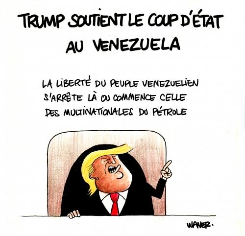 webzine,bd,zébra,gratuit,fanzine,bande-dessinée,caricature,donald trump,vénézuela,diplomatie,dessin,presse,satirique,editorial cartoon,dessin,presse,satirique,waner
