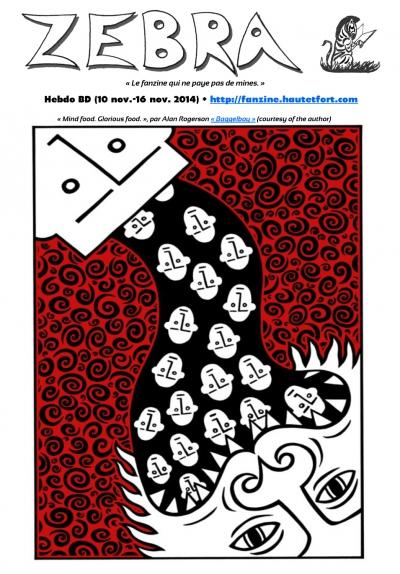 webzine,bd,gratuit,fanzine,zébra,bande-dessinée,revue de presse,alan rogerson,actualité,hebdomadaire,issuu.com,pdf,lien hypertexte