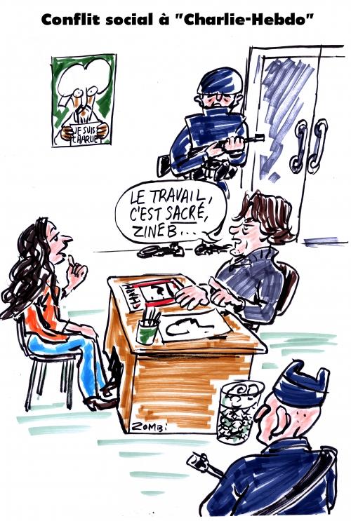 webzine,bd,zébra,fanzine,gratuit,bande-dessinée,caricature,riss,conflit social,charlie-hebdo,zineb el razhoui,dessin,presse,satirique,zombi,editorial cartoon