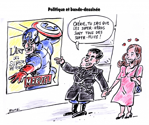 webzine,bd,gratuit,zébra,fanzine,bande-dessinée,caricature,manuel valls,anne gravoin,satirique,super-héros,art,front national,jeanne d'arc,dessin,presse,editorial cartoon,zombi