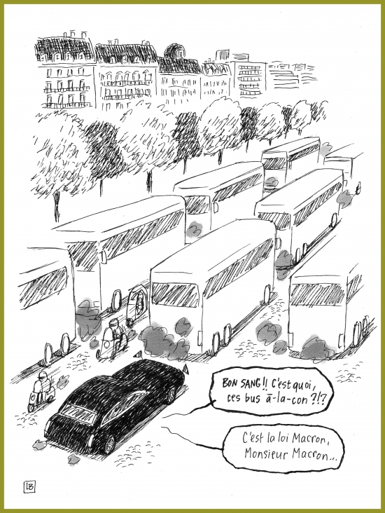 webzine,zébra,bd,gratuit,fanzine,bande-dessinée,caricature,macron,loi,autocar,dessin,presse,satirique,soap,editorial cartoon