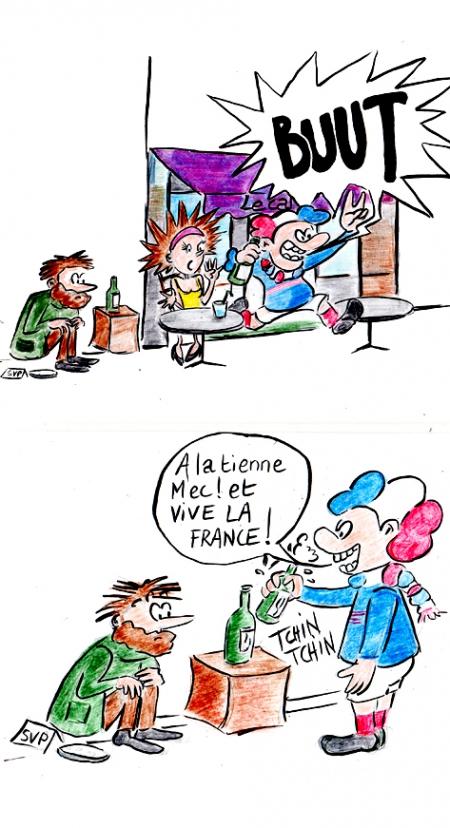 webzine,bd,gratuit,zébra,fanzine,bande-dessinée,strip,lola,hebdomadaire,aurélie dekeyser,france football
