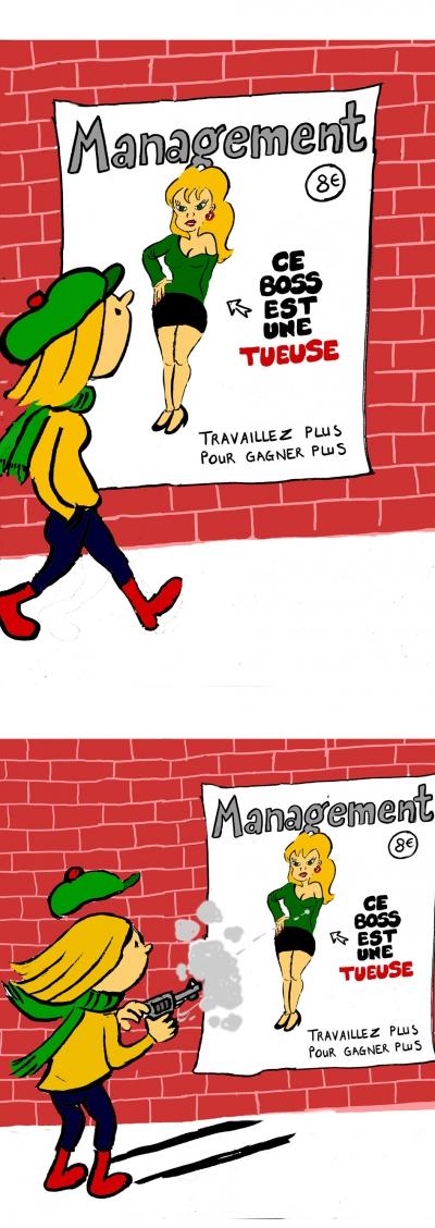 webzine,bd,gratuit,fanzine,zébra,bande-dessinée,lola,strip,aurélie dekeyser,hebdo,management