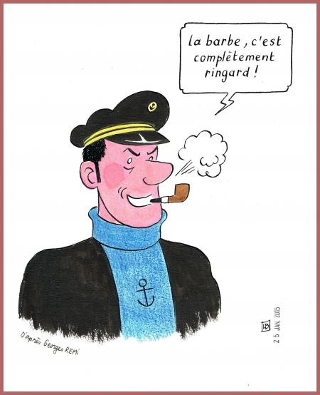 webzine,bd,zébra,gratuit,fanzine,bande-dessinée,pastiche,capitaine,haddock,dessin,satirique,lb